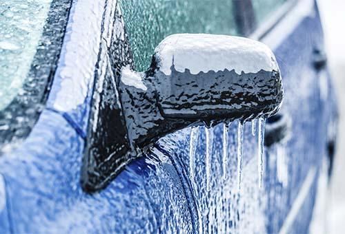 Что делать если замёрз замок  в машине