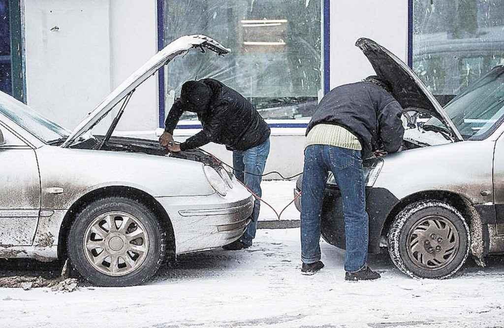 Прикуривание автомобиля