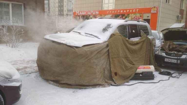 Отогрев авто в Красноярске недорого